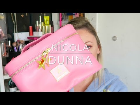 Look At My New Jeffree Star Travel Bag In Pink | Nicola Dunna