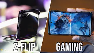 Samsung Galaxy Z Flip Gaming Review & Speaker Test!