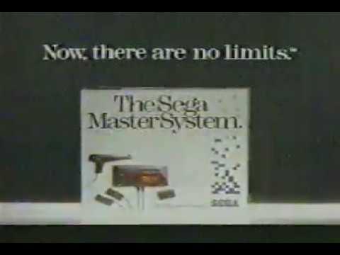 1986 SEGA MASTER SYSTEM T.V. SPOT