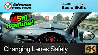 Changing Lanes Safely     Learn to drive: Basic skills
