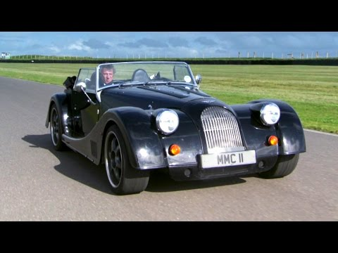 Old Meets New With The Morgan Plus 8 #TBT – Fifth Gear