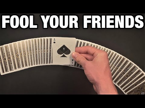 Impress Everyone At Online School With This Awesome Card Trick!