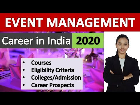 Event Management Courses in India, Complete Information - YouTube