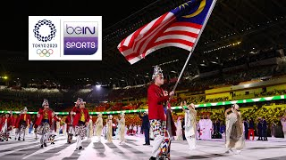 Opening Ceremony - Malaysia Contingent | Tokyo 2020 Olympic Games Moments