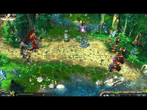 king's bounty crossworlds pc gameplay