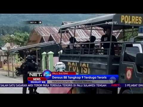 9 Orang Terduga Teroris Ditangkap Tim Densus 88 di Sulawesi Selatan - NET24