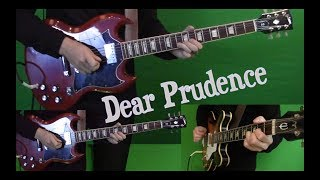 Dear Prudence - Guitar cover - Isolated
