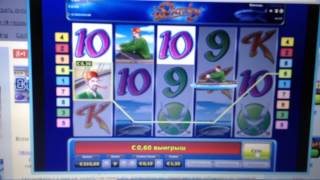Бонус игра в игровом автомате Sharky часть 2
