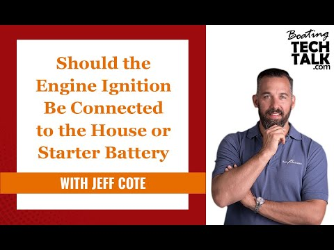 Ask PYS - Should the Engine Ignition Be Connected to the House or Starter Battery?
