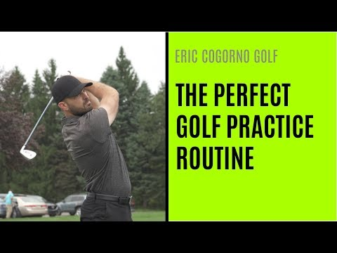 GOLF: The Perfect Golf Practice Routine - YouTube