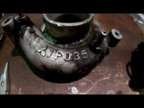 ремонт турбины на паджеро .замена ремкомплекта своими руками