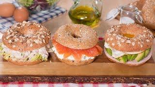 Tres Deliciosas Ideas Para Rellenar Bagels