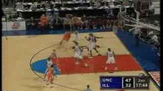 2005 NCAA Mens Basketball Championship Game Higlights