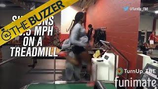 College freshman runs 20.5 MPH on a treadmill | @TheBuzzer | FOX SPORTS