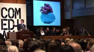 Sotheby's contemporary art auction