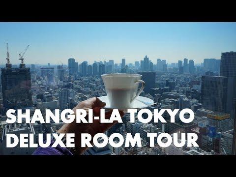 SKY HIGH LUXURY IN TOKYO – Shangri-La Hotel Horizon Club room tour