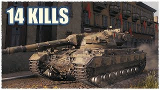 Super Conqueror • 14 Kills per Battle • WoT Gameplay