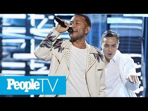 John Legend Leaves BBMAs Early & Assures Chrissy Teigen He'll Be Home For Dinner | PeopleTV