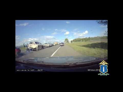 Погоня за пьяным водителем на ВАЗ-2106
