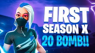 Season 10 : First 20 Kill Win!