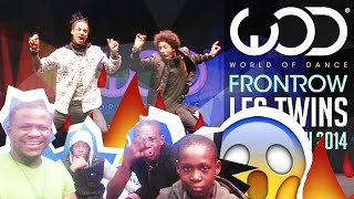 Les Twins | FRONTROW | World of Dance 2014 #WODHI Reaction