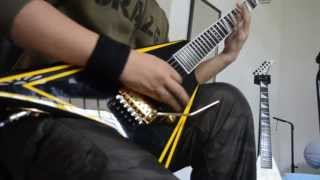 Children Of Bodom//Blooddrunk Guitar Cover HD