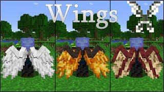 Wings By Pau101   Another Form Of Flight   Minecraft 1.12.2 Mod Spotlight