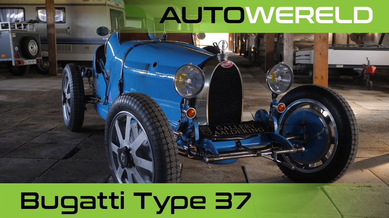 Een schuurvondst én een Bugatti T37| Nico Aaldering
