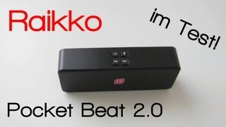 Review: Raikko Pocket Beat 2.0 Stereo Bluetooth Lautsprecher Test