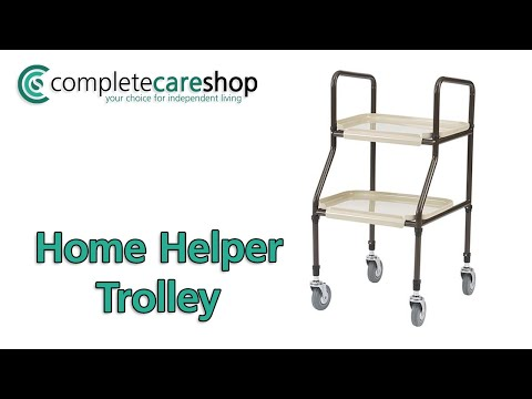 Home Helper Trolley - Perfect For Those With Weak Grip