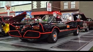1966 Batmobile with Engine Start Up @ the Klairmont Kollections on My Car Story with Lou Costabile