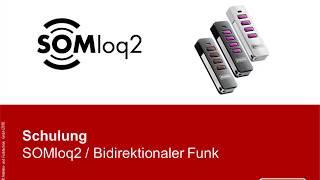 Webinar SOMloq2 - Bidirektionales Funksystem   Akademie   SOMMER Antriebs- und Funktechnik GmbH