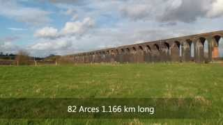 preview picture of video 'Harringworth viduct'