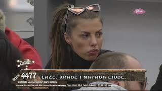 Zadruga 2 - Svađa Lune i Dragane oko Marka Miljkovića - 15.11.2018.
