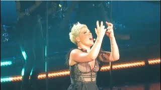"""P!NK - """"Try"""" - Madison Square Garden - April 4, 2018"""