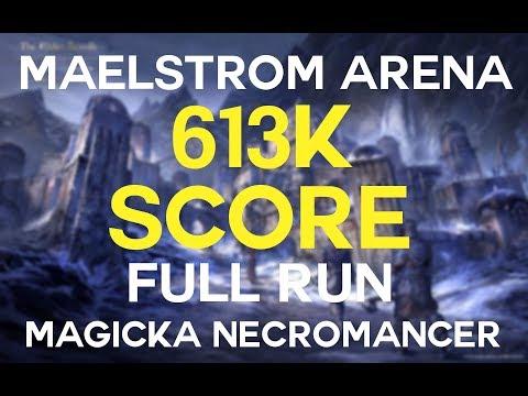 Magicka Necromancer VMA build + 613180 score video (full run
