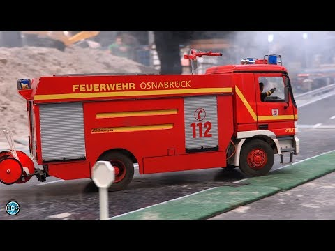 RC FIRE FIGHTER TRUCKS And AMBULANCE RESCUE!  🚒