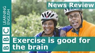 Exercise helps the brain: BBC News Review
