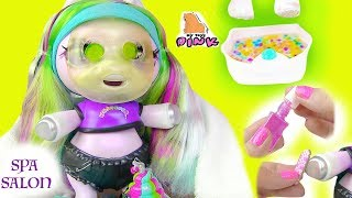 НОВАЯ СЮРПРИЗ #ПОНИ ЕДИНОРОГ В СПА САЛОНЕ! Surprise Poopsie Baby Unicorn + Slime! Барби Мультик