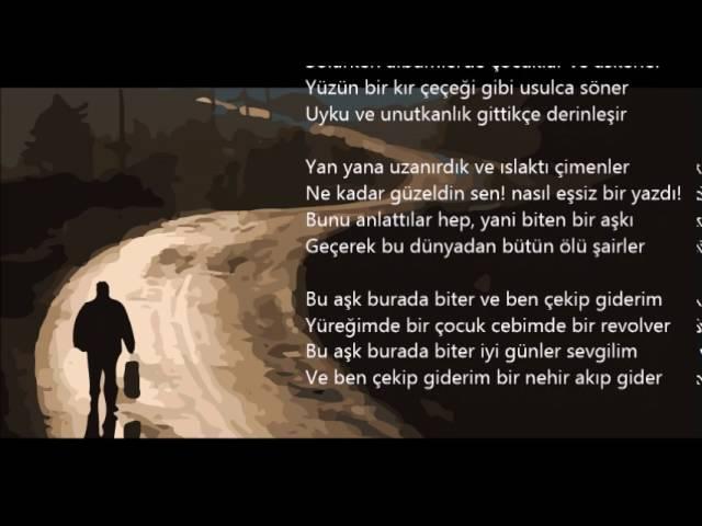 Bu Aşk Burada Biter/Ataol Behramoğlu