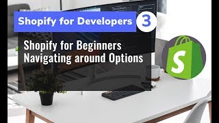 3 - Shopify for Beginners   Navigating around Options