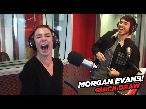 Morgan Evans vs. Kate Ritchie in Quick Draw