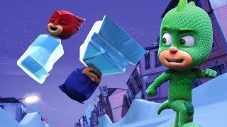Heroes En Pijamas Capitulos Completos 🎄 El Plan Helado De Gecko 🎄 Dibujos Animados