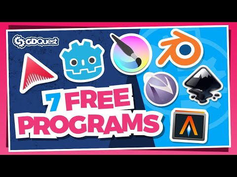 The 7 Programs I Use to Make Games: Free and Open-Source