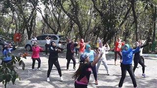Hutan Kota Srengseng Jadi Tempat Pilihan Warga untuk Berolahraga di Akhir Pekan