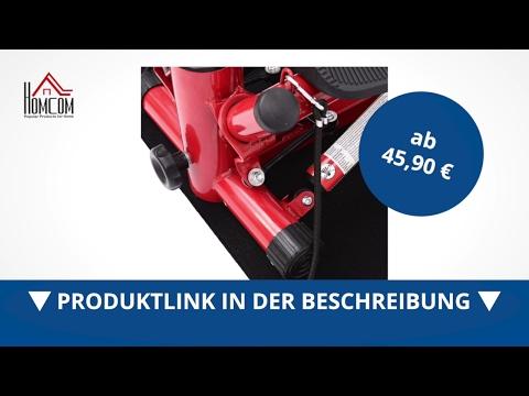 Homcom Mini Stepper Heimtrainer Sidestepper inkl. Trainingsbänder - direkt kaufen!