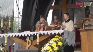 Uroczysta msza święta podczas 25-tej rocznicy beatyfikacji Karoliny Kózkówny.