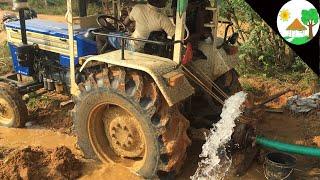 Swaraj tractor water pump / Good Idea water pump using Swaraj 744 XM tractor - Come To Village