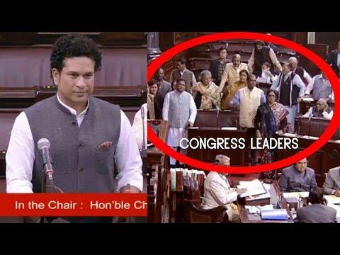 Download VIDEO : Congress Leaders Did Not Allow Sachin Tendulkar To Speak In the Rajya Sabha...21 Dec 2017 HD Mp4 3GP Video and MP3