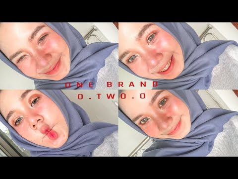 ONE BRAND MAKE UP WITH O.TWO.O + REVIEW O.TWO.O | Fegaahmad